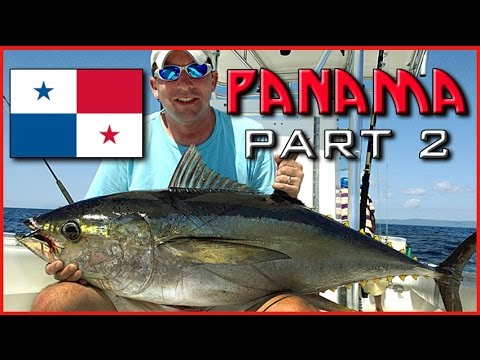 PANAMA Paradise Fishing Lodge (Part 2)