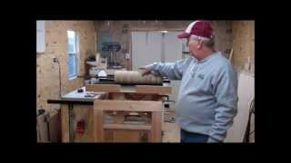 Part one of building a drum sander. I