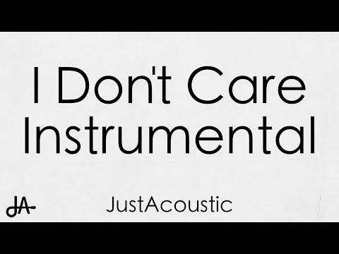 I Don't Care - Ed Sheeran & Justin Bieber (Acoustic Instrumental)