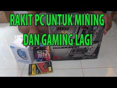 RAKIT PC UNTUK GAMING DAN MINING NICEHASH