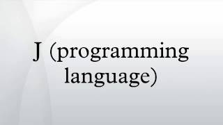 J (programming language)
