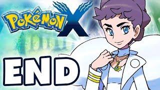 pokemon x and y gameplay walkthrough part 48 ending elite four champion diantha nintendo 3ds
