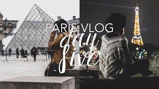 Paris Vlog: Day Five (The Louvre, Tuileries Garden & Place de la Concorde)