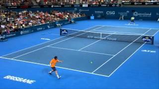 M. Baghdatis v G. Dimitrov - Highlights Men's Singles Semi Finals: Brisbane International 2013