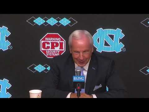 UNC Men's Basketball: Roy Williams Media Day Press Conference