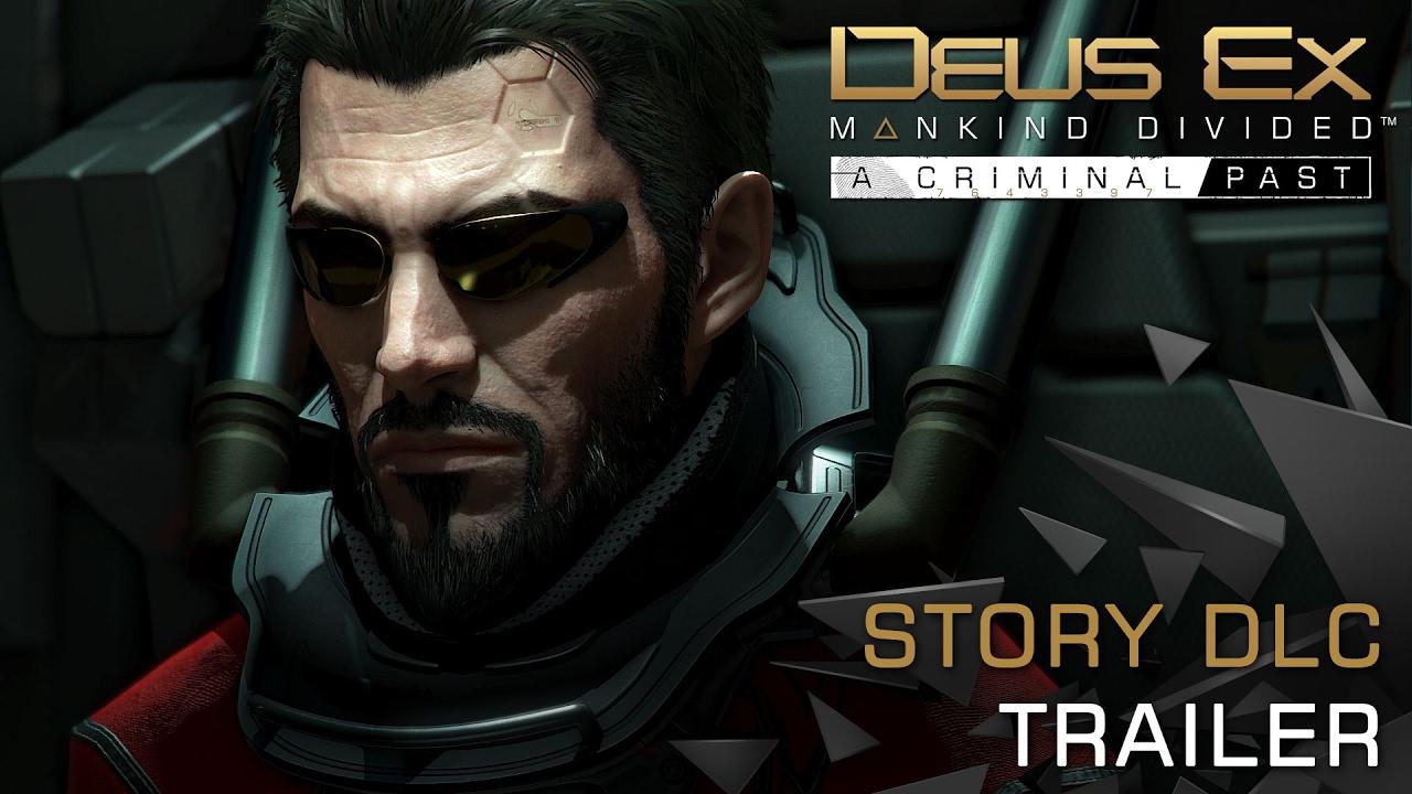 Deus Ex Mankind Divided A Criminal Past Trainer Free Download