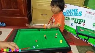 Zada Bermain Billiard - Mainan Billiard Untuk Anak Kecil