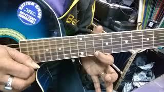 tera milna pal do pal ka guitar tab lesson