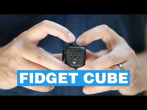 Fidget Cube - Cube Shaped Toy That Helps You Fidget