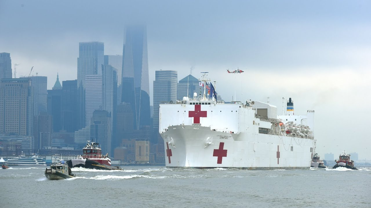 Everything you need to know about the USNS Comfort, the giant ...