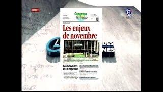 REVUE DES GRANDES UNES ÉQUINOXE TV DU 14 11 2017