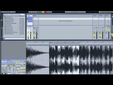 Comment sampler (Ableton Live)
