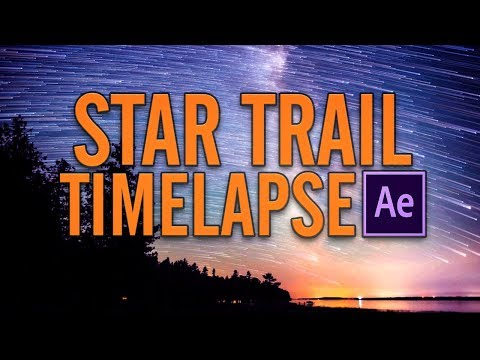 How to make Star Trails in After Effects [ Tutorial ]
