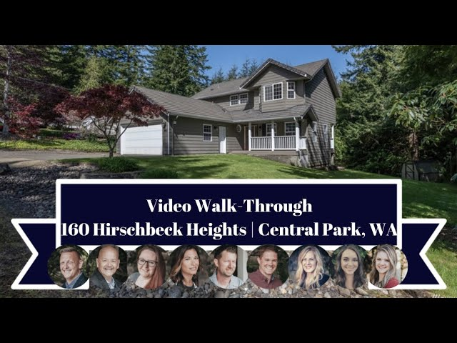 160 Hirschbeck Heights | Central Park, WA | Video Walk-Through