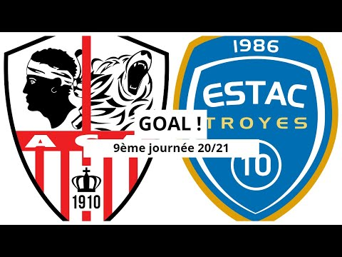 AC Ajaccio Troyes Goals And Highlights