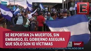 Continúan protestas en Nicaragua