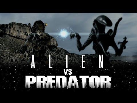 ALIEN VS PREDATOR - STOP MOTION