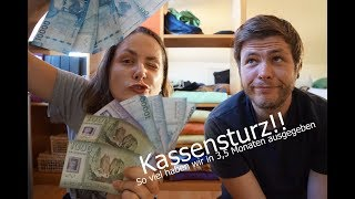 Kassensturz! Unsere Kosten für 3,5 Monate Südamerika, Brasilien, Argentinien, Chile