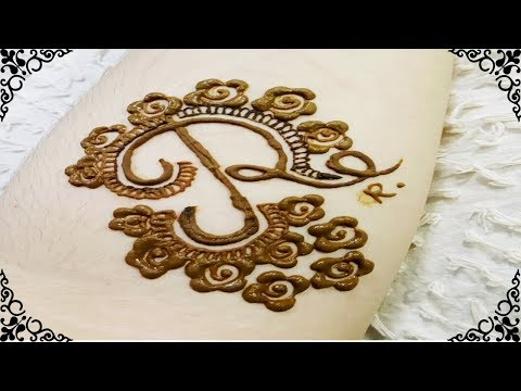 Very Beautiful Alphabet Tattoo Mehndi Design Alphabet R Tattoo