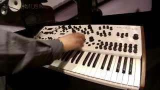 Nova Musik - Modal Electronics 002 Synthesizer with Paul Maddox at NAMM 2015