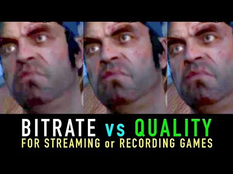 Youtubers and Streamers, What you need to know about Bitrates