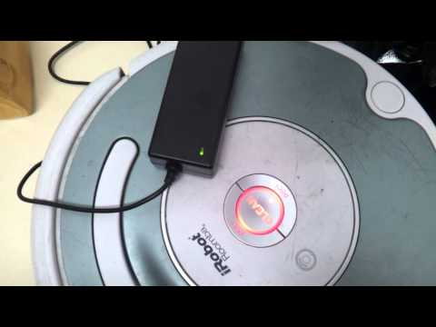 Roomba 500 error charging 2 with compatible charger.