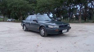 1991 Nissan Bluebird 1.8 Start-Up and Full Vehicle Tour