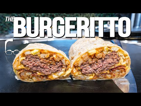 THE BURGERITTO (BURGER OR BURRITO OR BOTH?)   SAM THE COOKING GUY