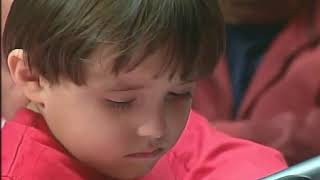 Cuando Chávez prometio una casa a niño cuyo hermano fue asesinado