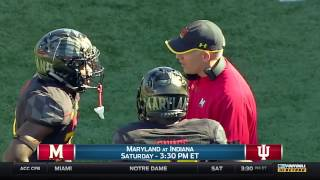 DJ Durkin Talks Maryland Football