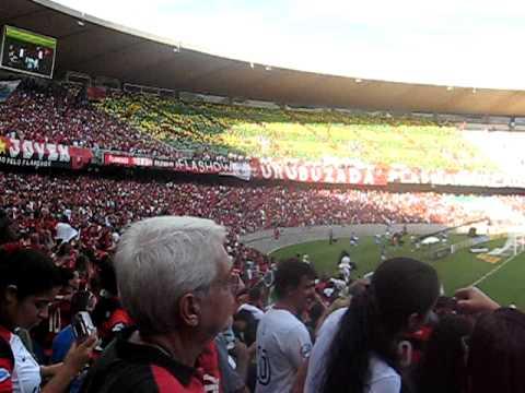 Flamengo 2 x 1 Atlético PR - Mosaico Urubuzada - Estréia do Adriano