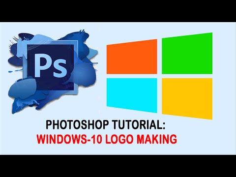 Photoshop Tutorial - Your First Logo Design thumbnail