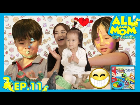 ALL AND MOM TOY REVIEW EP.11 : เกม Whack It Activate สุ่มคำศัพท์แข่งกันทุบ