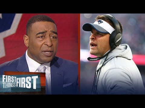 Cris Carter reacts to Tony Dungy calling out Josh McDaniels for spurning Colts | FIRST THINGS FIRST