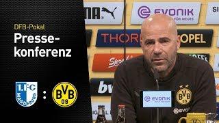 Pressekonferenz vor der 2. DFB-Pokalrunde   1. FC Magdeburg - BVB