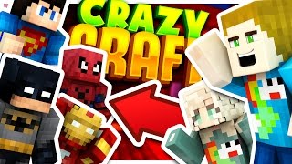 THE SUPERHERO DIMENSION!! - Crazy Craft #4