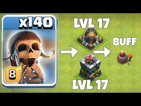 NEW UPDATE! CANNON AND ARCHER TOWER LVL17