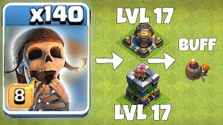 """NEW UPDATE! CANNON AND ARCHER TOWER LVL17 """"Clash Of Clans"""" thumbnail"""