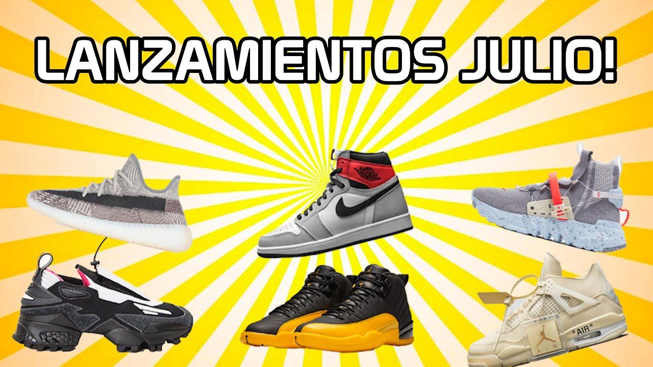 LOS MEJORES LANZAMIENTOS DE SNEAKERS EN JULIO!