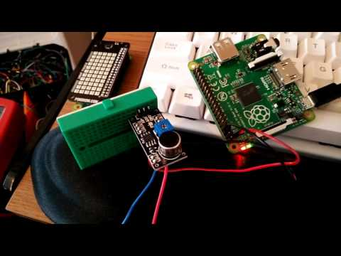 LM393 Sensor test with a Raspberry Pi