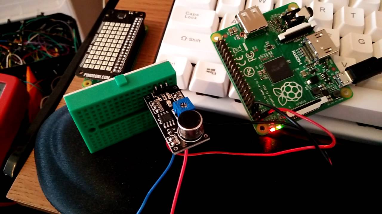 Lm393 Sensor Test With A Raspberry Pi Youtube Circuit Battery Charger Picture Of Good Electronic