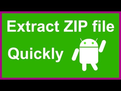 How To Open Zip File In Android Phone