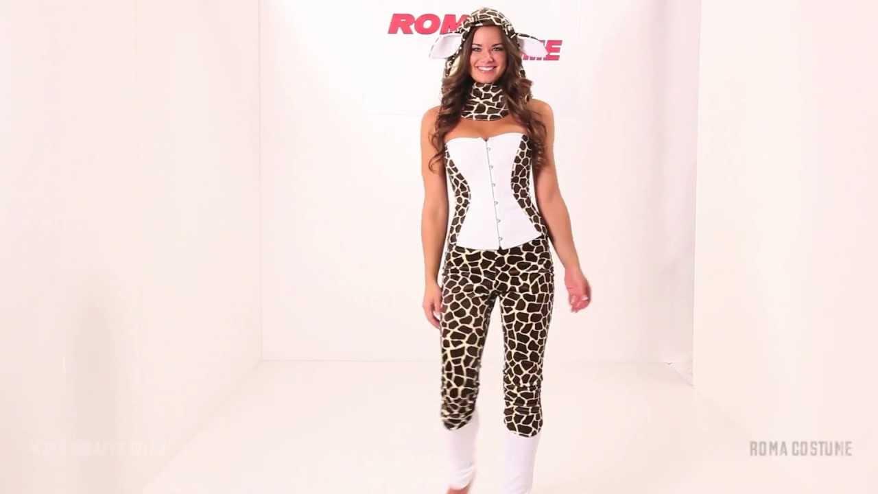 adult giraffe halloween costume