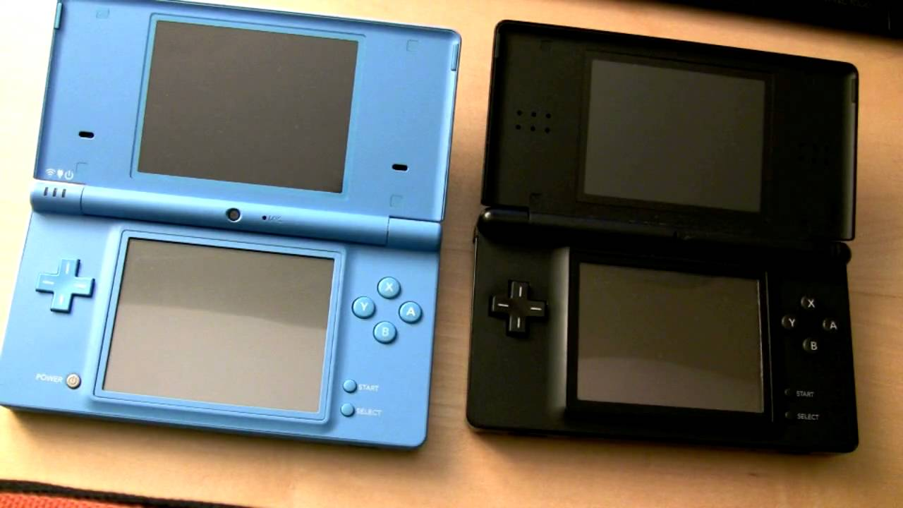 nintendo dsi vs nintendo ds lite youtube. Black Bedroom Furniture Sets. Home Design Ideas