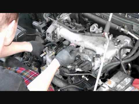 02 Montero spark plug change 3-6 - YouTube