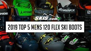 Ski Boots - 2019 Top 5 Mens 120 Flex Ski Boots by SkisDotCom