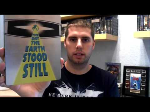 The Day The Earth Stood Still Steelbook Unboxing
