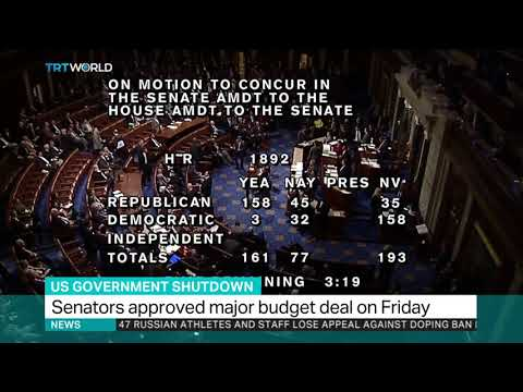 US Senate approves major budget deal reopening the government