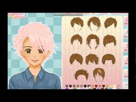dress up make a anime guy - YouTube