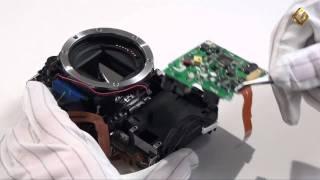 видео ремонт фотоаппаратов canon